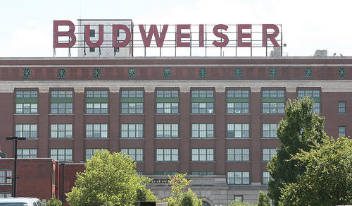 Anheuser-Bush, the brewer of Budweiser, still runs its North American operations out of St. Louis.