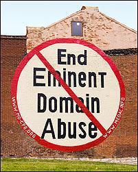 The U.S. Supreme Court will not hear a case that allowed this anti-eminent domain sign to remain on the side of a building in south St. Louis.