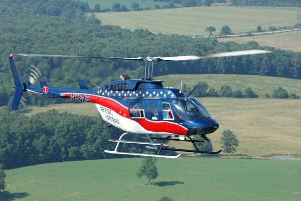 Air Evac Lifeteam operates a fleet of 110 medical helicopters