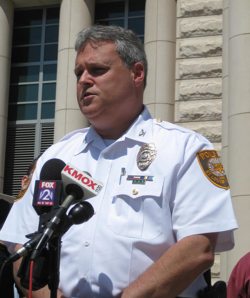 St. Louis County Police Chief Tim Fitch says there will be extra patrols around schools following the shooting in Newtown, Conn.