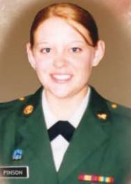 Sgt. Amanda Pinson.