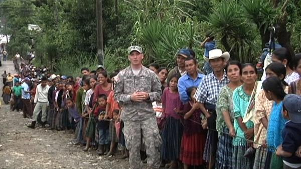 Mo. National Guard Staff Sgt. Robert J. Traxel, shown here in Guatemala, was killed Monday in an accident during a training mission in the country.