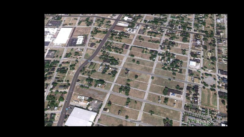 Another Google Earth view of a section of north St. Louis.