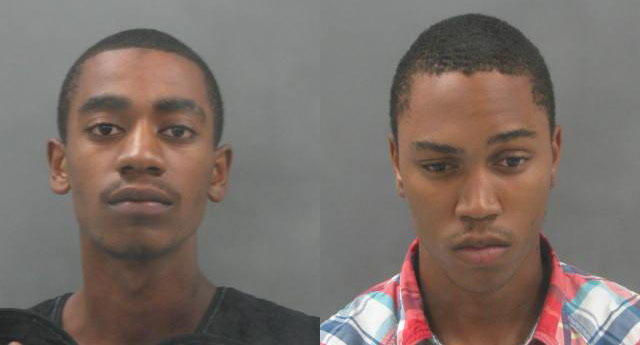 Keith Esters (left) and Johnathan Perkins (right) have been charged with the murder and attempted robbery of former Saint Louis University student Megan Boken.