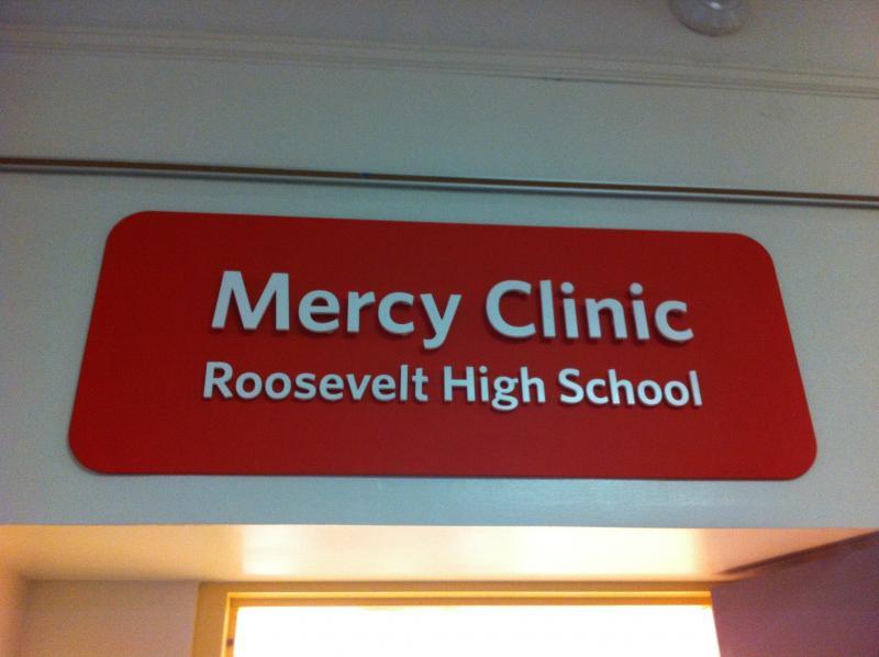 Mercy Hospital will run the clinic at Roosevelt High School.