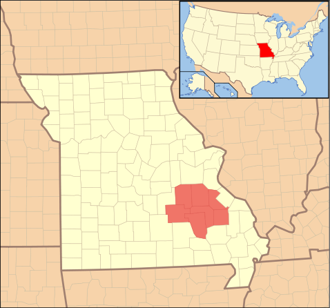 Several counties in Missouri were included in lead mining, including Madison.