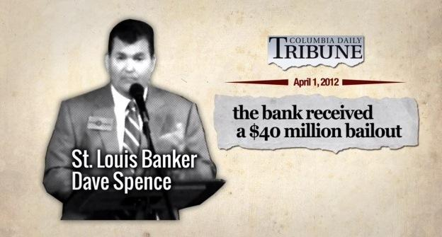 "A series of attack ads paid for by Governor Jay Nixon labeled his opponent, Dave Spence as a ""banker."" Spence would later sue Nixon for defamation because of this series of ads."