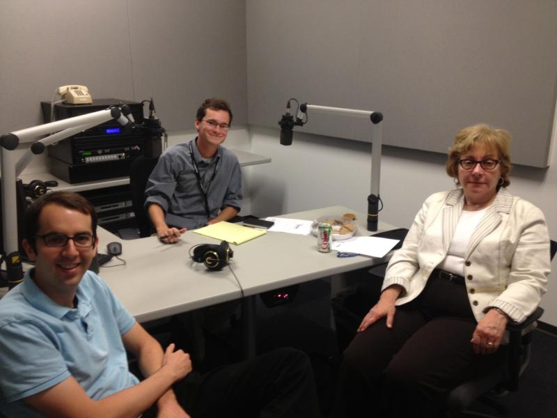 Jason Rosenbaum (left) and Jo Mannies (right) join Chris McDaniel (center) to discuss Missouri politics.