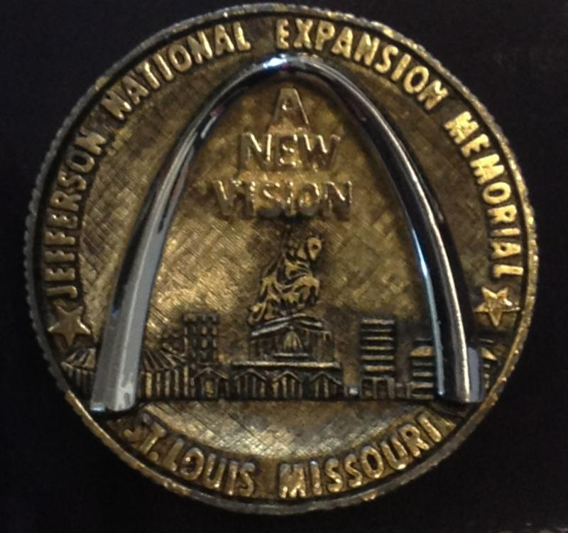 Arch Topping Out Ceremony Coin