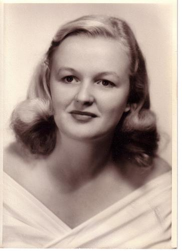 An older photo of Betty Anne McCaskill.