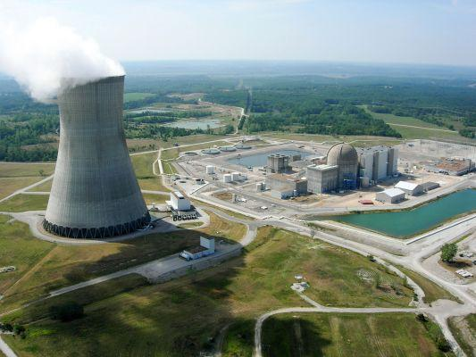 Ameren's Callaway nuclear power plant went online in 1984, and is located about 25 miles northeast of Jefferson City, Missouri