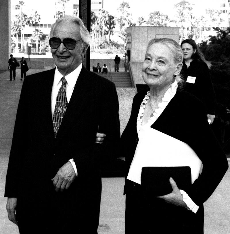 Dave Brubeck and His Wife Iola 2002