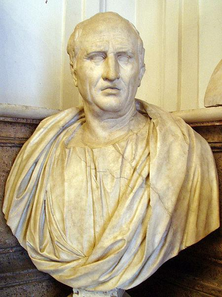 Bust of Marcus Cicero