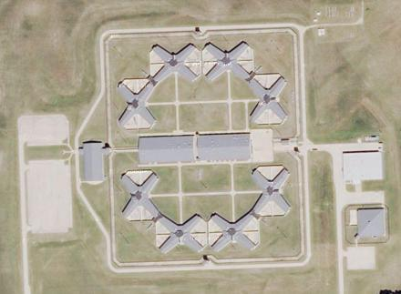 The federal government will purchase the underused state prison in Thomson, Ill., shown here in a screenshot from Google Maps, despite Congressional opposition.