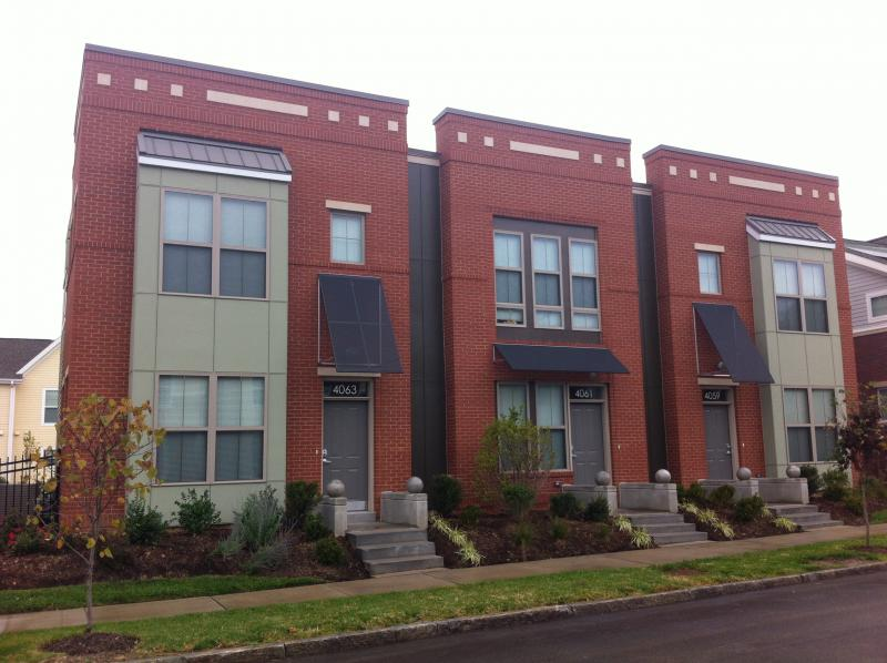 Some of the 120 new, mixed-income units now available in St. Louis' 18th Ward at North Sarah Apartments.