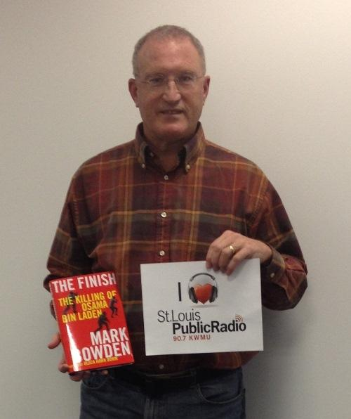 St. Louis native and author Mark Bowden