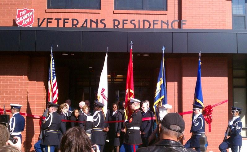 Veterans Residence ribbon cutting in St. Louis