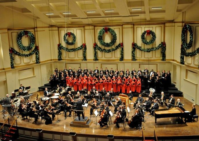 Bach Society Christmas Candlelight Concert