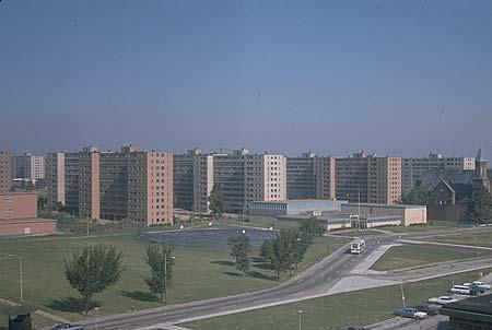 The Pruitt-Igoe public housing project in St. Louis, which has since been demolished, was one of the locations where chemical weapons testing was done by the US Army during the Cold War.