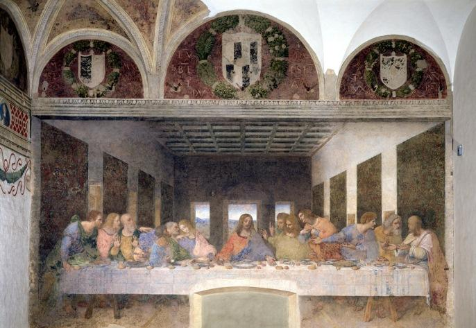 """The Last Supper"" by Leonardo da Vinci"
