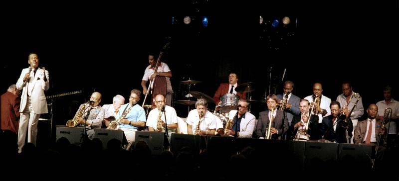 Ernie Andrews with the Capp-Pierce Orchestra-1986
