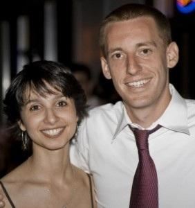 Mo. Secretary of State-Elect Jason Kander and his wife Diana.