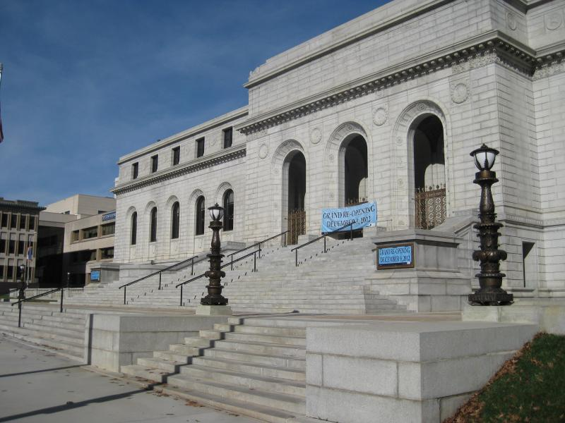 On Sunday, the Central Library in downtown will re-open after a $70 million upgrade and restoration that took more than two and a half years to complete.