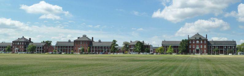 A view of Jefferson Barracks in St. Louis County.