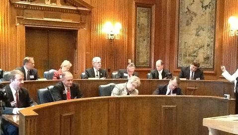 Missouri's 10 presidential electors cast their ballots at the State Capitol on Dec. 17th, 2012.