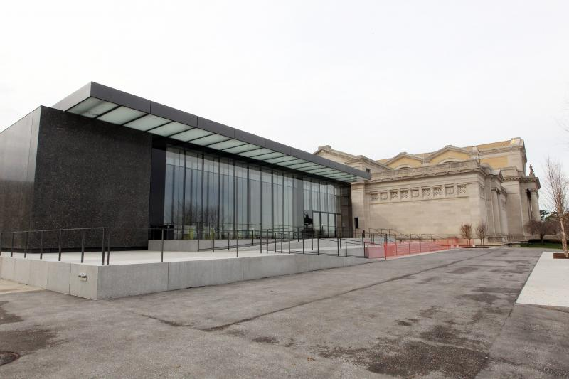 The new East Building of the Saint Louis Art Museum is nearly complete with a June 2013 grand opening planned.