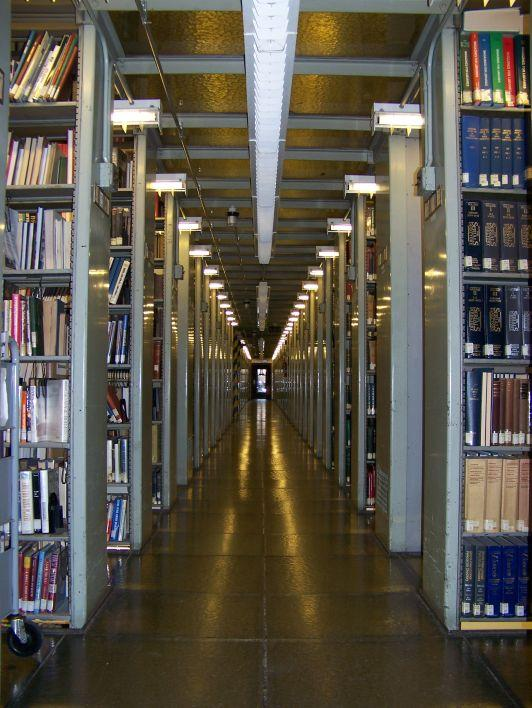 The stacks as they looked in 2009.