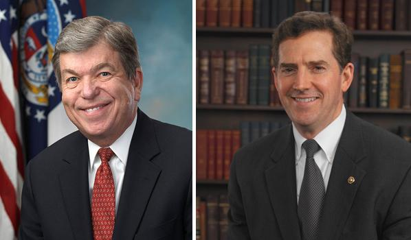 Sen. Roy Blunt (R-Mo.) and Sen. Jim DeMint (R-SC) both serve on the Senate Commerce Committee.