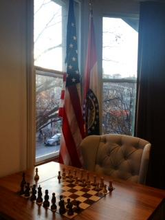 The Center sits across from the World Chess Hall of Fame, where exhibits and arts events are regularly held.