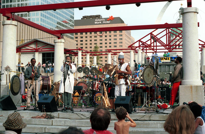 Art Ensemble of Chicago in St. Louis-1988