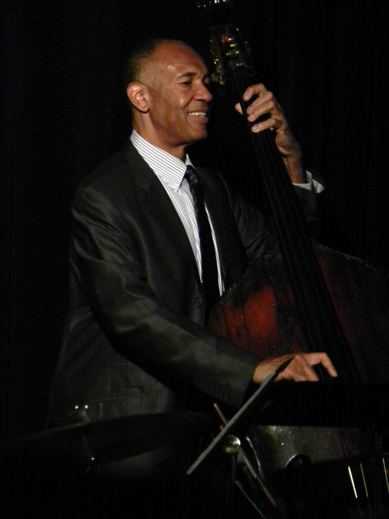 John Clayton Playing Ray Brown's Bass-2012