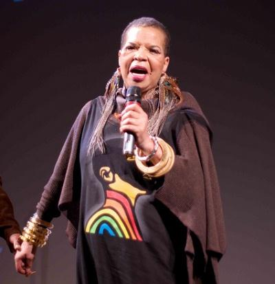 Ntozake Shange, taken December 2010 at the Urban Zen Center at the Stephan Weiss Studio