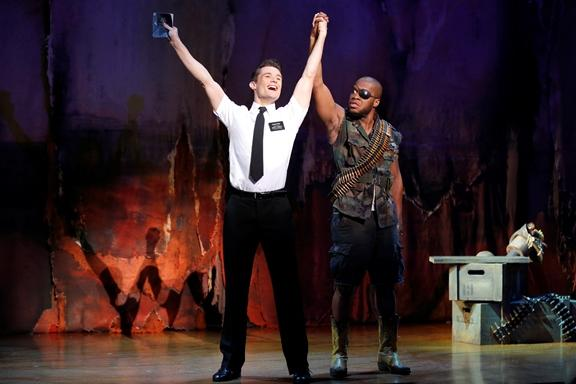 "Cast of the ""The Book of Mormon"" touring company"