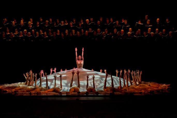 "Nashville Ballet's ""Carmina Burana,"" Lady Fortune and Ensemble"