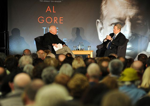 Don Marsh and Al Gore