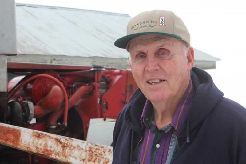 Indiana farmer Vernon Hugh Bowman.