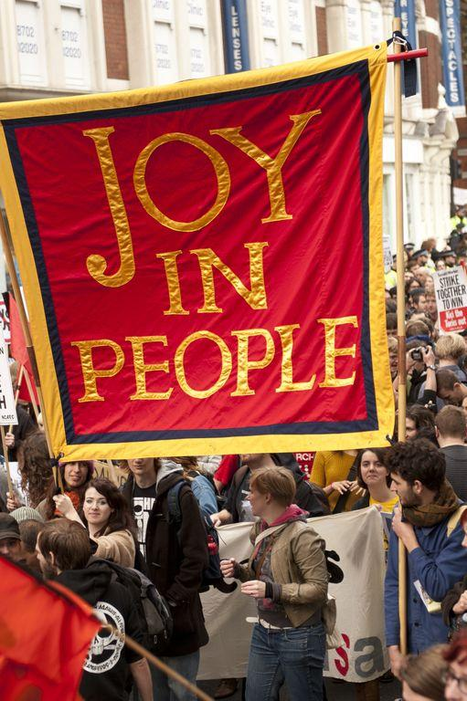 Jeremy Deller, Joy in People, 2011. Courtesy the artist.