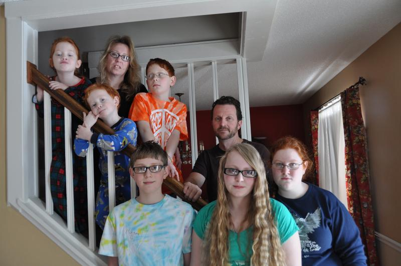 The Wilfong Family lives in Bridgeton, within smelling distance of the landfill. They're concerned about the landfill's effects on their health. Three of the Wilfong kids have asthma.