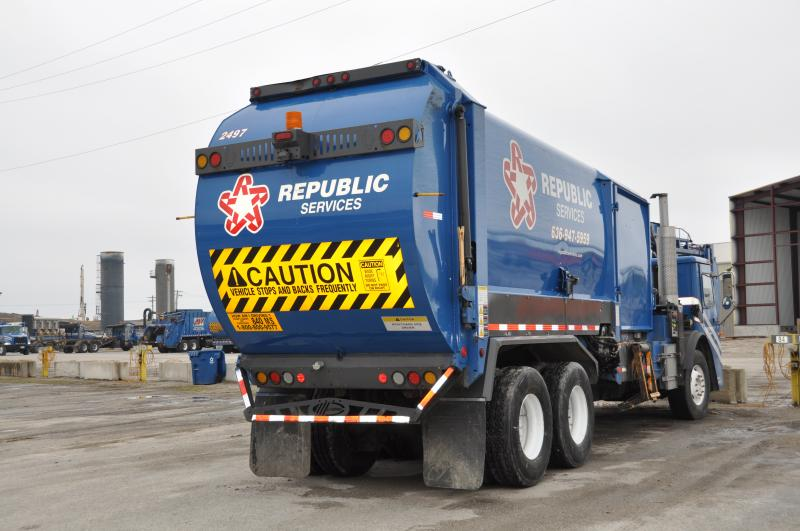 Republic Services, Inc. is one of the largest waste management companies in the United States.