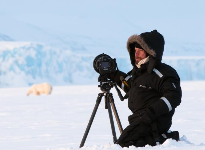 Photographer Florian Schulz in the Arctic
