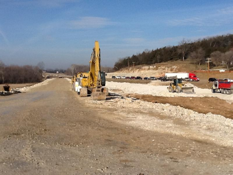 A project to expand a small stretch of U.S. 50 in Osage County, Mo., to four lanes.