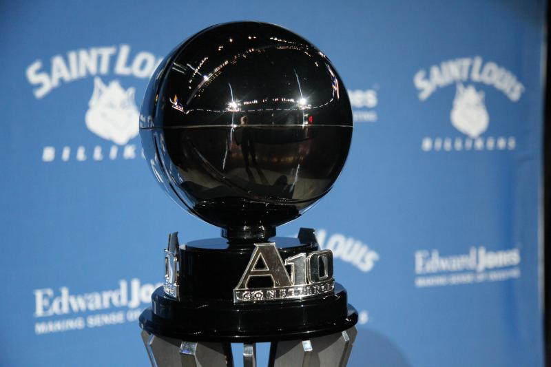 SLU won the A10 tournament for the second time this year.