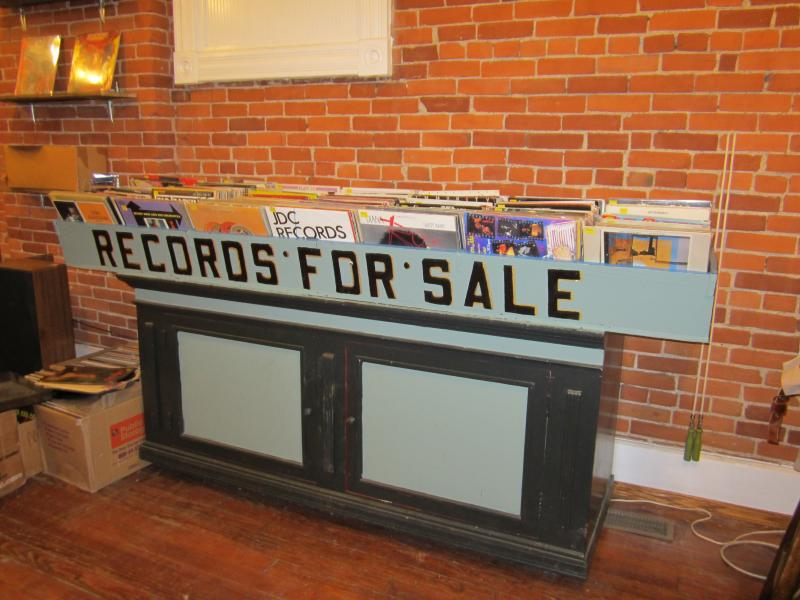 Vinyl records remain on sale at all times when the doors are open.