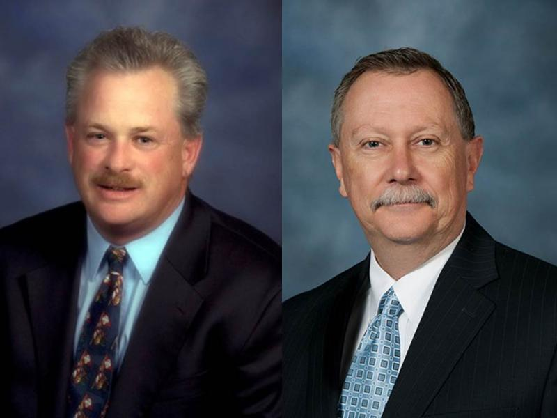 MoDOT director Kevin Keith (left) has resigned. He'll be replaced on an interim basis by Dave Nichols (right), the department's chief engineer.