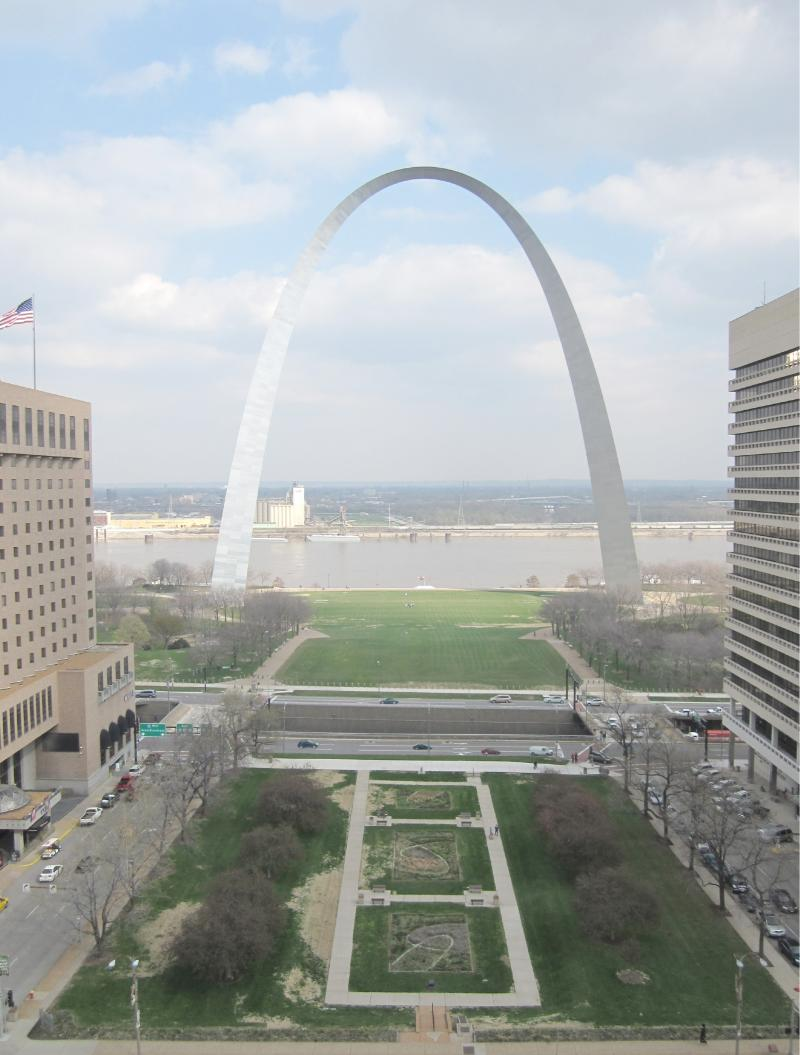 What the Arch currently looks like now.