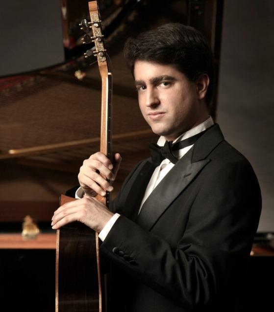 Classical guitarist Rafael Aguirre